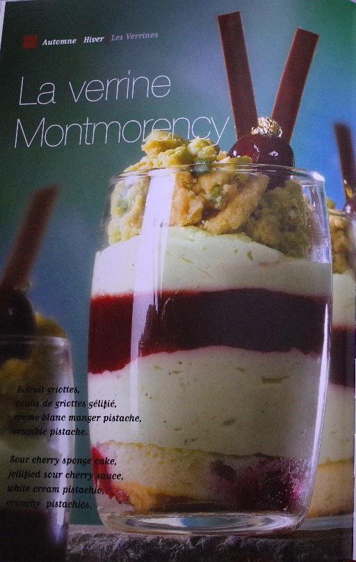La verrine Montmorency