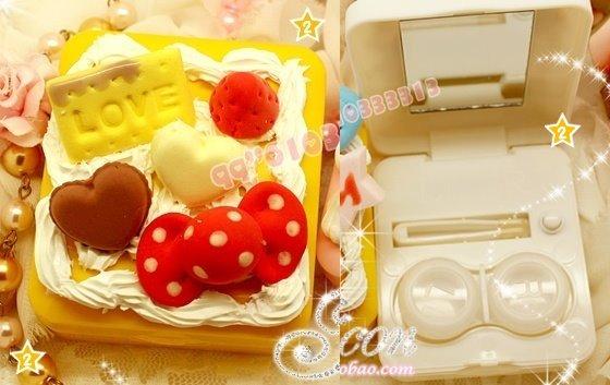 02款-正方型【Q點蝴蝶結奶油餅乾-黃色】$450