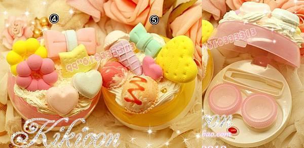 04款-圓型【奶油夢幻甜甜圈系列-粉紅色】05款-圓型【奶油夢幻冰淇淋系列-黃色】$480