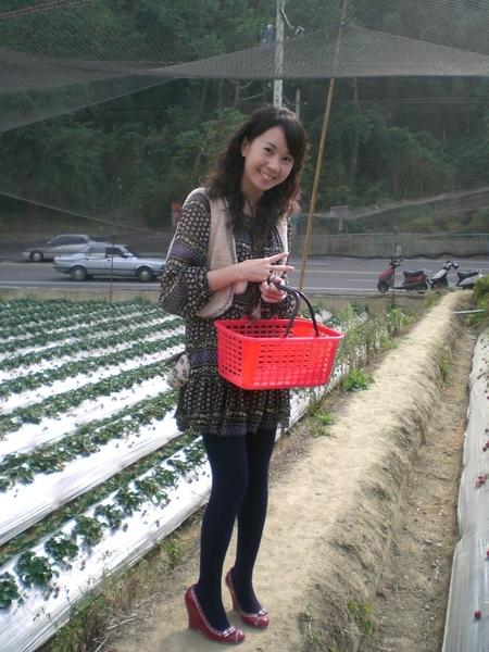 小文採草莓2