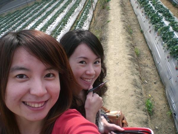 流星+小文採草莓