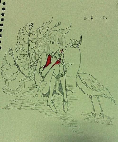 紅之書--花