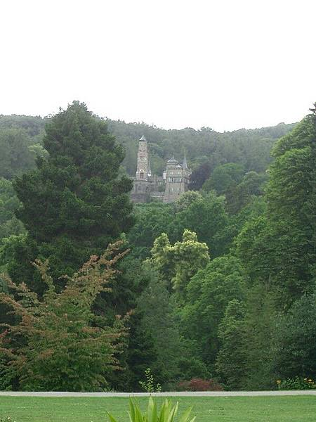 遠眺的另一做城堡