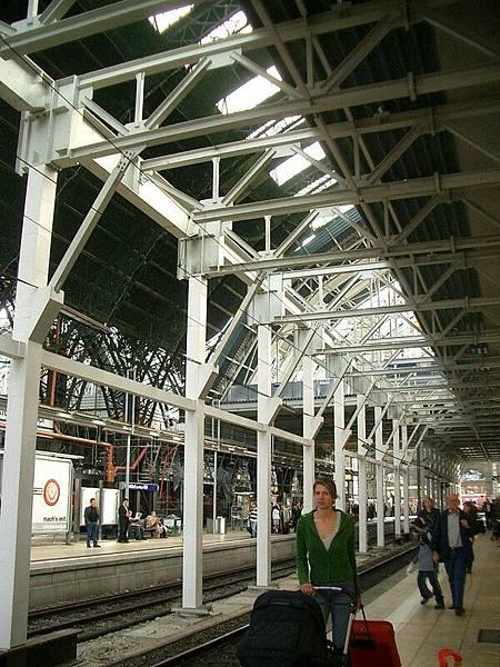Hauptbahnhop in Frankfurt.