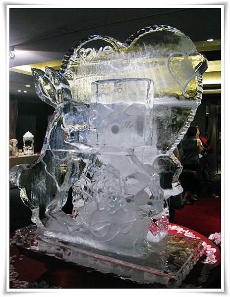 0812-笠維婚禮-冰雕
