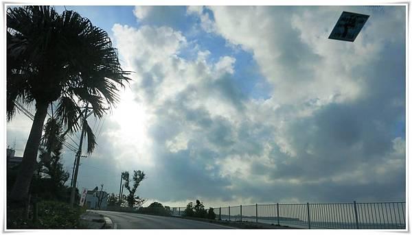 10.08第三天-殘波岬-路上景色2