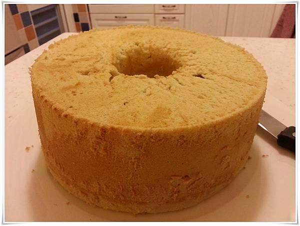2014023-紅茶乳酪超軟戚風蛋糕-脫模成品