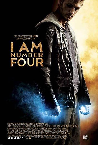 I Am Number Four《獵殺第四行者》