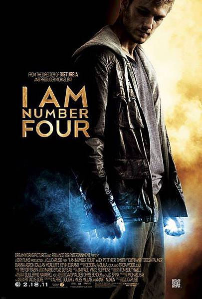 I Am Number Four《獵殺第四行者》