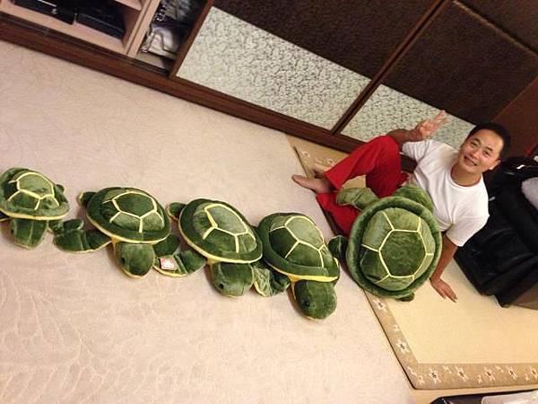 彥寬老師與龜