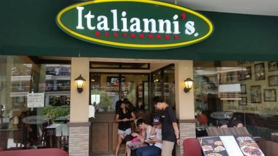 [轉載自English FELLA台灣專屬部落格] English Fella -- 為大家介紹是一家貴死人不償命的餐廳!! Italiannis~~