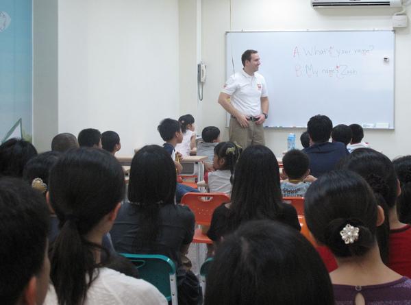 知名兒童美語進駐彰化市 讓孩子天天和「阿兜仔」英語對話