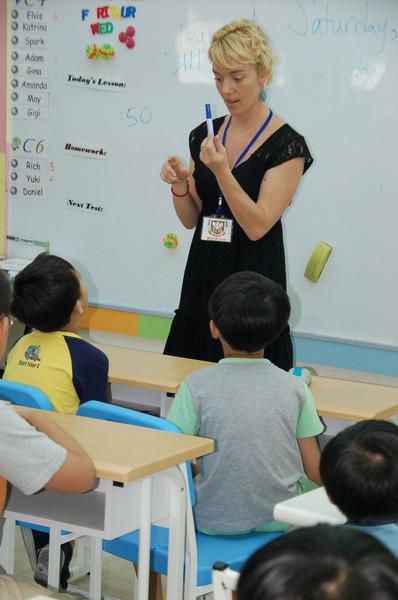 文化大學和唐威廉美語簽約開辦兒童英語