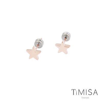 TiMISA 玫瑰星星耳環