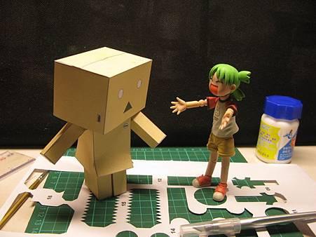 阿愣紙模型