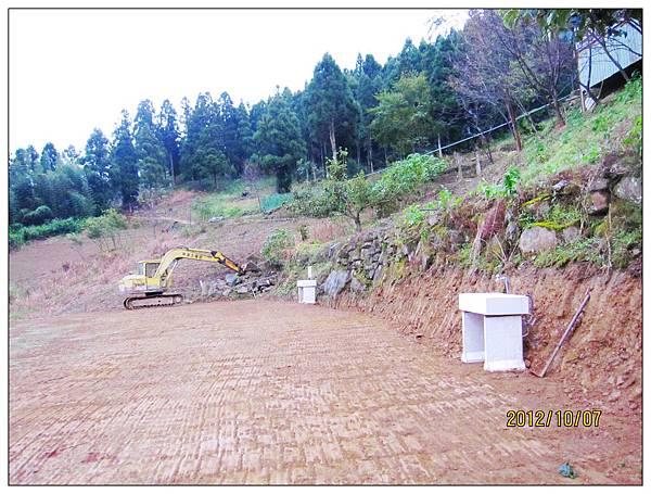 2012年營地建置中