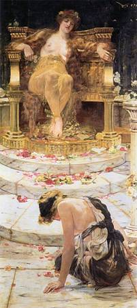 Psyche at the throne of Aphrodite 1883.jpg
