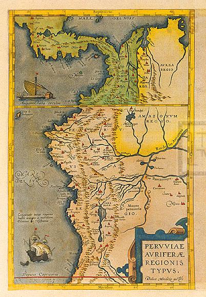 009-秘魯古地圖Peruviae-Auriferae-Regionis-Typus
