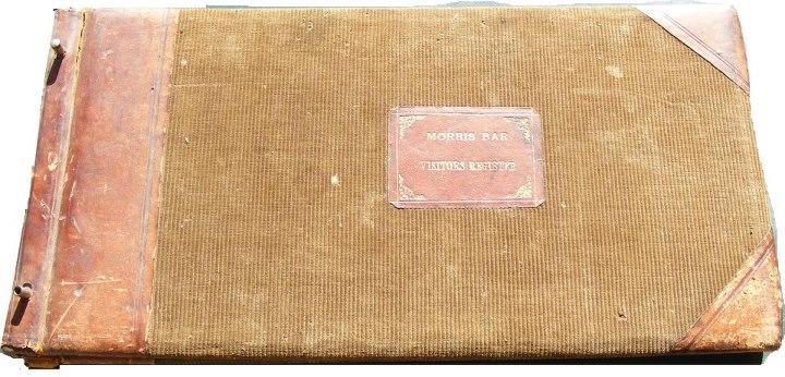 033-Morris' Bar Visitors Register (1916-1929)簽到簿