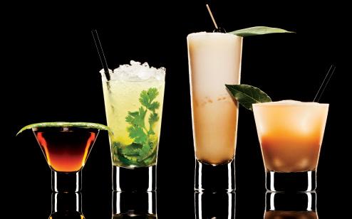 SR002-Rum Cocktail