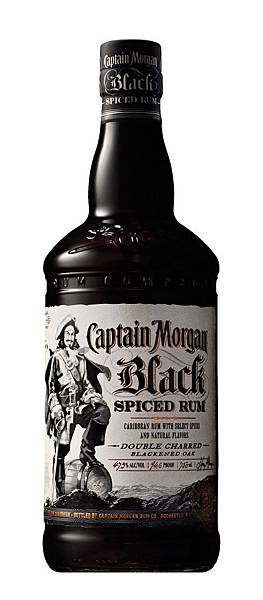 SR021-Captain Morgan Black Spiced Rum