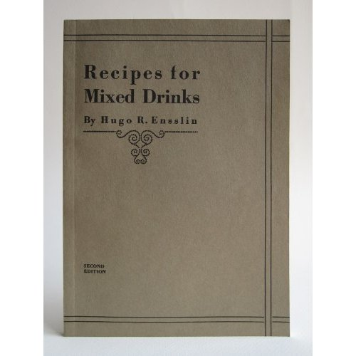P.25-004 Recipes for Mixed Drinks(2009)