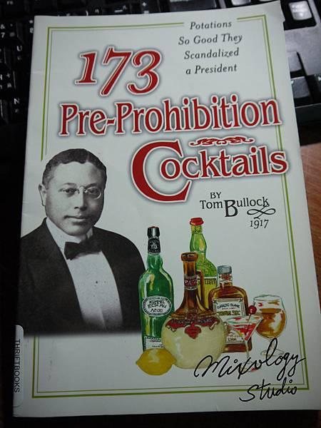 P.26-004 173 Pre-Prohibition Cocktails