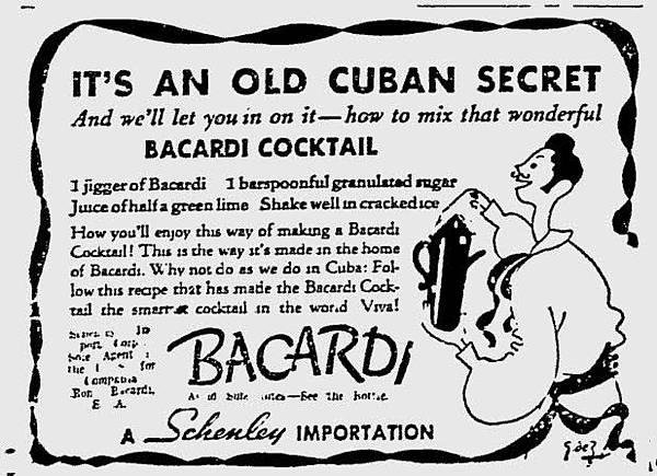 P.26-008 Bacardi廣告