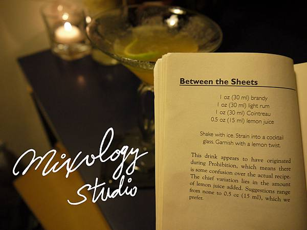 P.30-002 Between the Sheets recipe & history