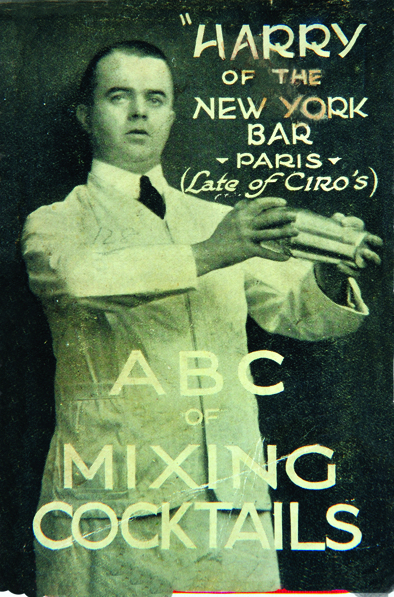 P.30-003 Harry MacElhone & Harry's ABC of Mixing Cocktails
