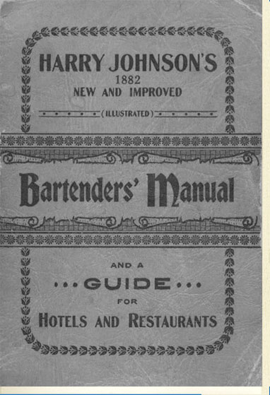 P.31-003 Harry Johnson's Bartenders Manual(1882)