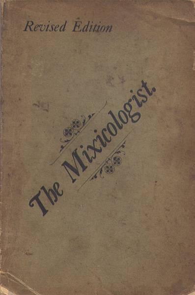 P.31-007  C.F. Lawlor The Mixicologist