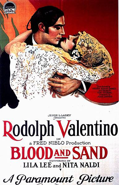 P.33-004 Blood and Sand _1922_poster