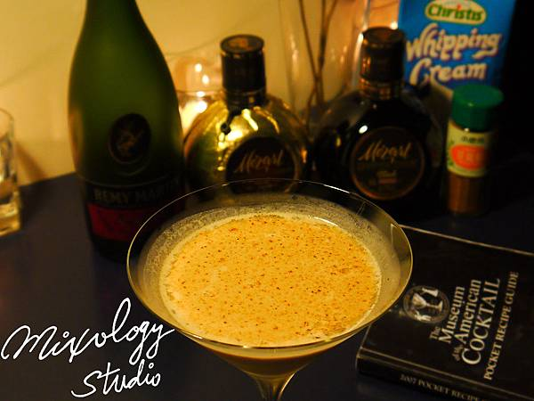 P.37-028 Brandy Alexander cocktail