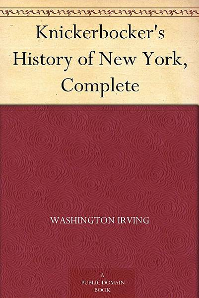 P.38-005 Knickerbocker's History of New York