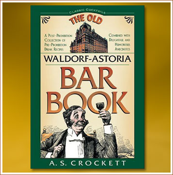 P.41-009 The Old Waldorf Astoria Bar Book