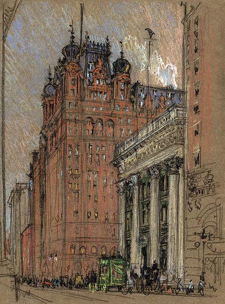 P.41-010 Waldorf-Astoria Hotel