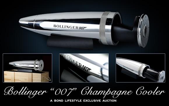 P.42-012 子彈造型伯蘭爵007香檳