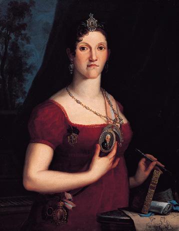 P.43-013 Queen Carlota Joaquina