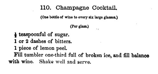 P.45-004 Jerry Thomas香檳雞尾酒