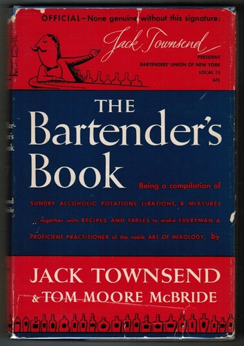 P.46-013 The Bartender's Book