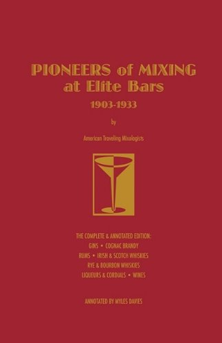 P.51-003 Pioneers of Mixing Gin at Elite Bars 1903-1933