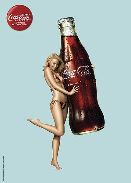 P.53-012 coca-cola-summer-girl-1