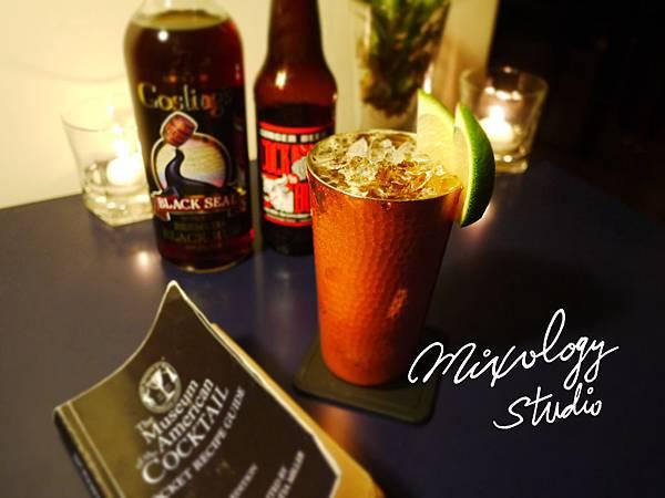 P.55-013 Dark 'N' Stormy cocktail