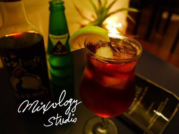 P.55-014 Dark 'N' Stormy cocktail