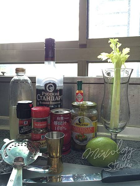 Bar29-10 血腥瑪麗Bloody Mary材料.JPG