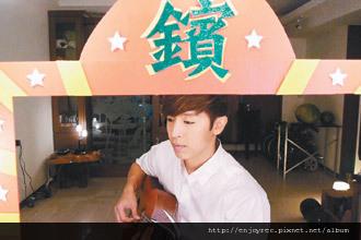 方炯鑌故意把電音「練舞功」kuso唱成抒情歌。 圖/喜歡音樂提供