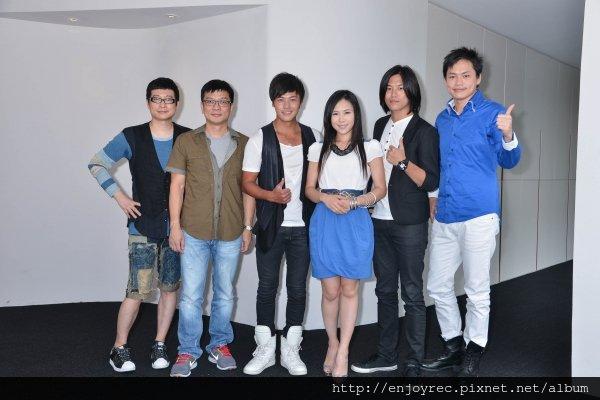 薛聖棻、陳子鴻、黃鐙輝替選秀節目出身的演員黃文星、吳申梅、蕭景鴻站台