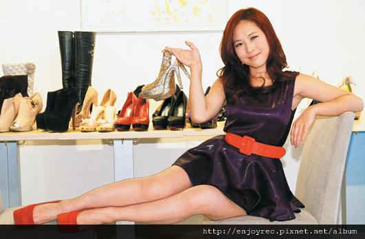 鞋痴吳申梅 從小愛蒐集高跟鞋