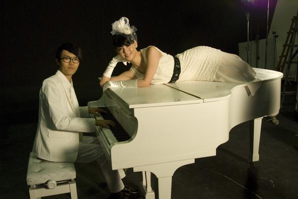 心如拍攝方大同MV
